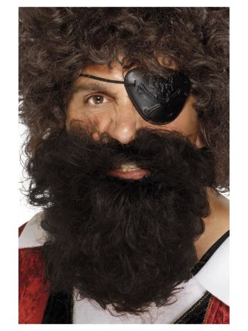 Deluxe Pirate Beard, Brown