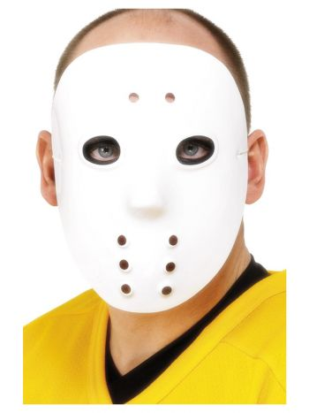 Hockey Mask, White