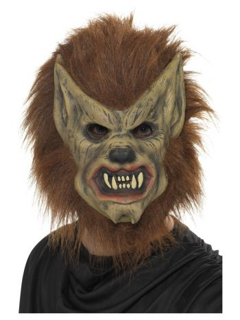 Werewolf Mask, Brown