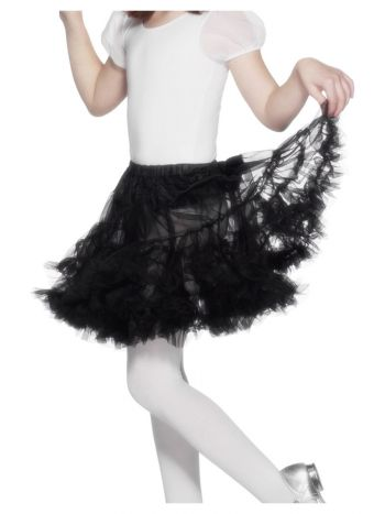 Petticoat, Child, Black