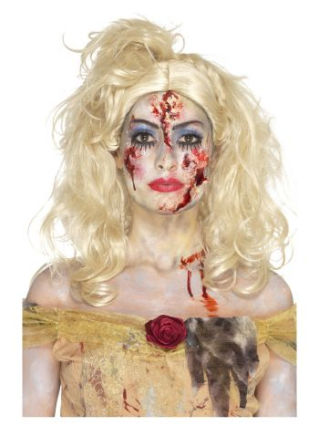 Smiffys Make-Up FX, Zombie Fairy Tale Kit, Aqua, M