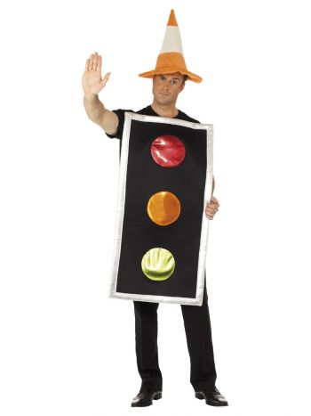 Traffic Light Costume, Black