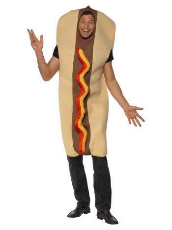 Giant Hot Dog Costume, Brown