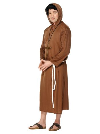 Monk Costume, Brown