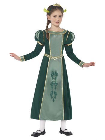 Shrek Princess Fiona Costume, Green