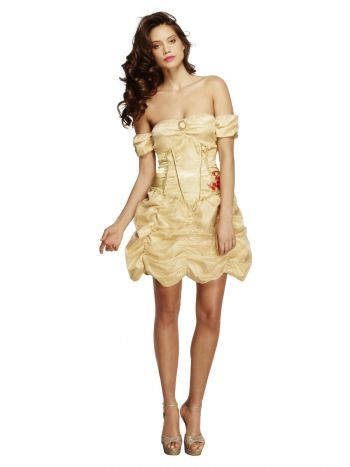 Fever Golden Princess Costume, Gold