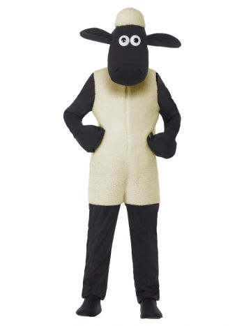 Shaun The Sheep Kids Costume, White