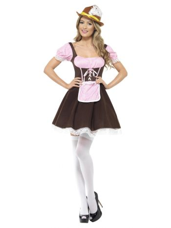 Tavern Girl Costume, Brown