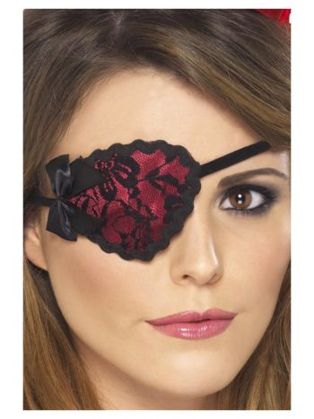 Pirate Eyepatch, Red