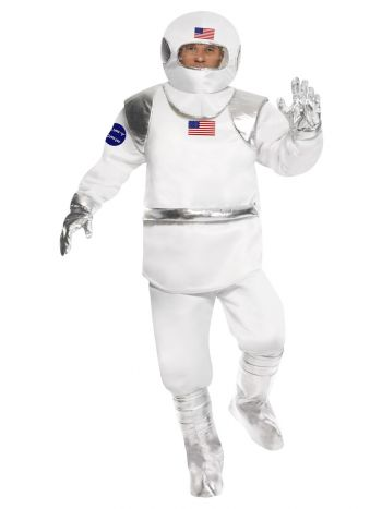 Spaceman Costume, White