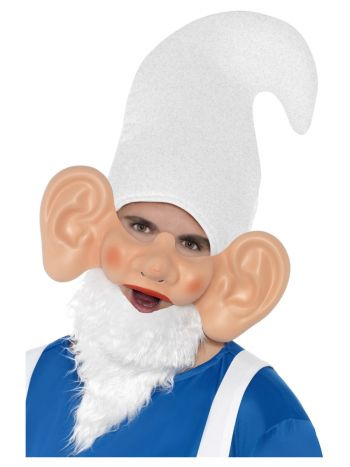 Garden Gnome Mask and Ears, Flesh