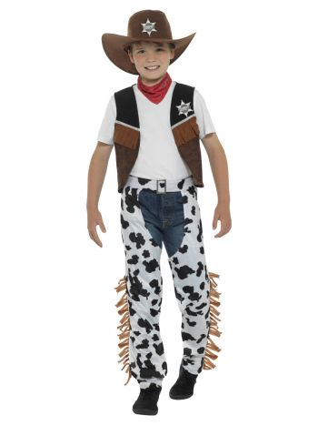 Texan Cowboy Costume, Brown