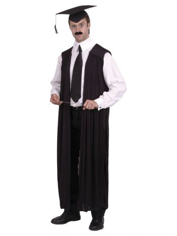 Teachers Gown, Black