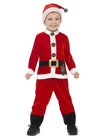 Santa Toddler Costume, Red & White