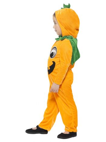 Pumpkin Toddler Costume, Orange & Black