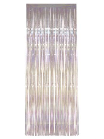 Shimmer Curtain, White