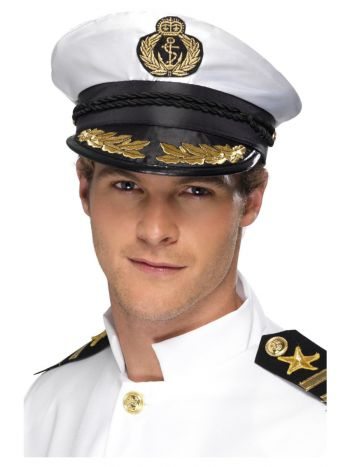 Captain Cap, White