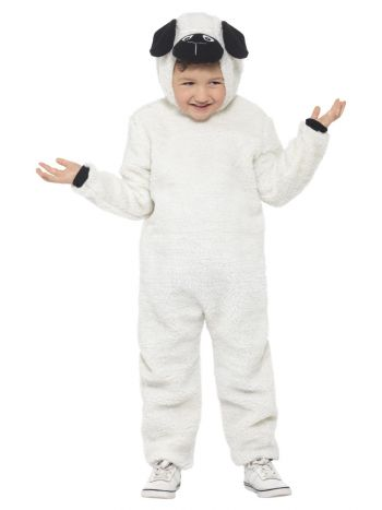 Sheep Costume, White & Black