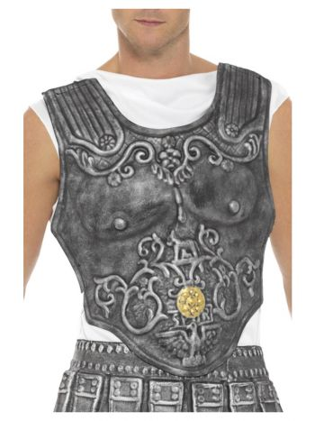Roman Armour Breastplate, Grey