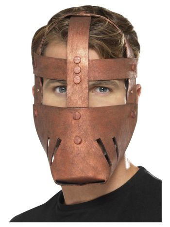 Roman Warrior Mask, Bronze