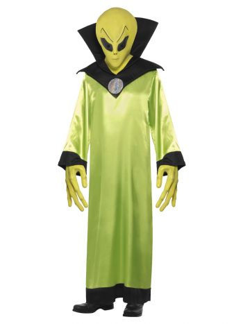 Alien Lord Costume, Green