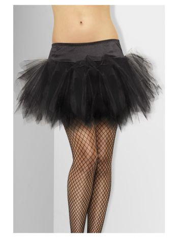 Tutu, Frilly, Black