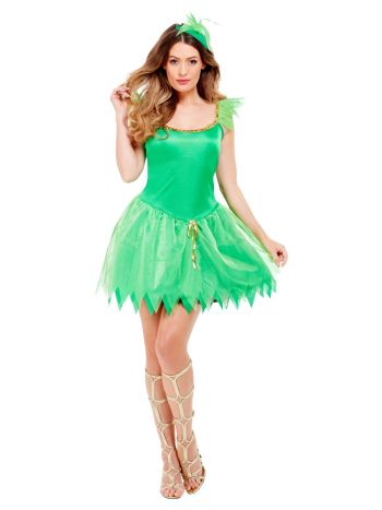 Woodland Fairy Costume, Green