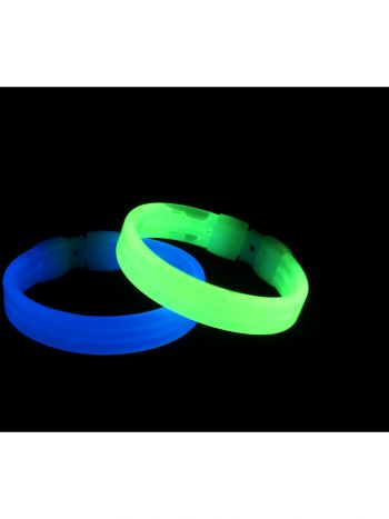 Wide Glow Bracelet, Assorted