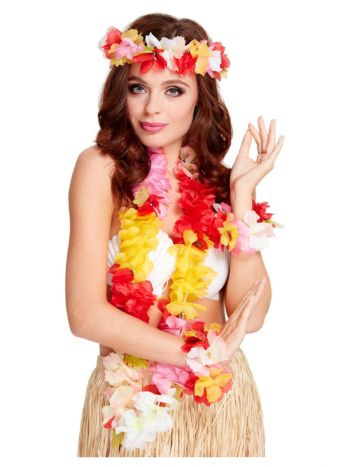 Deluxe Hawaiian Set, Multi-Coloured