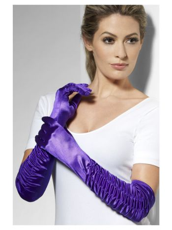 Temptress Gloves, Purple