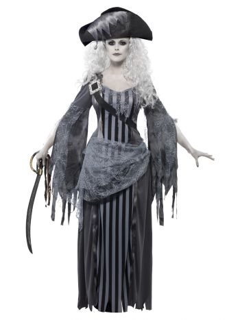 Ghost Ship Princess Costume, Grey