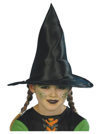 Witch Hat, Child, Black