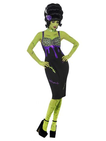 Pin Up Frankie Costume, Black