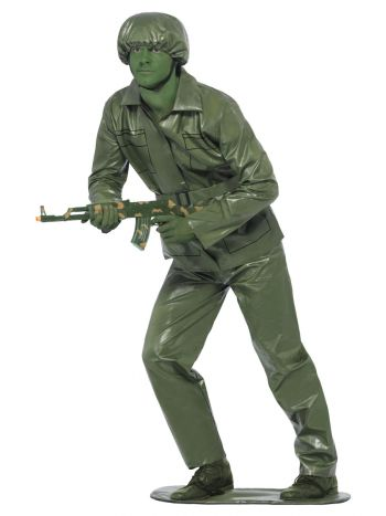 Toy Soldier Costume, Green