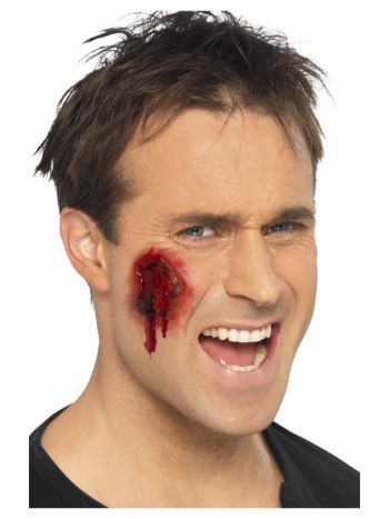 Smiffys Make-Up FX, Gory Wounds, Red