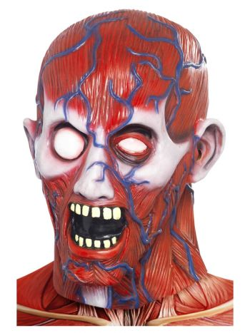 Anatomy Man Mask, Red