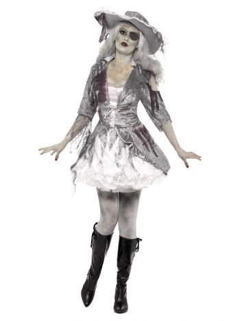 Ghost Ship Pirate Treasure Costume