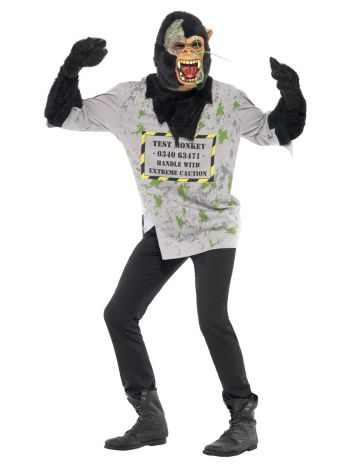 Mutant Monkey Costume, Black