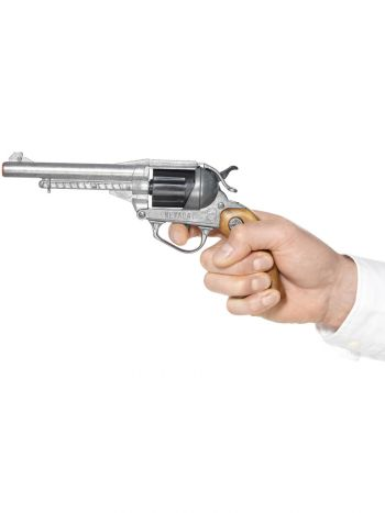 Deluxe Nevada Style Pistol, Silver