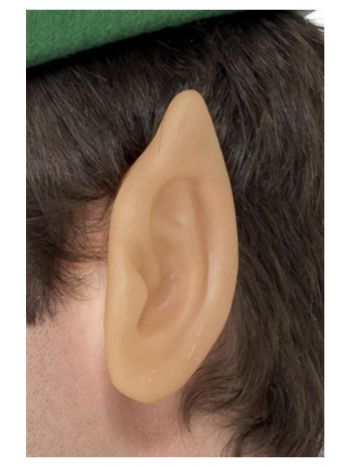 Soft Vinyl Pointed Elf Ears, Flesh