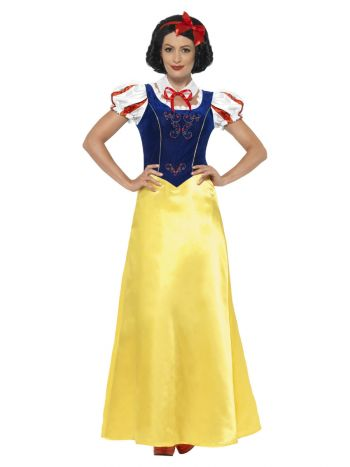 Princess Snow Costume, Yellow