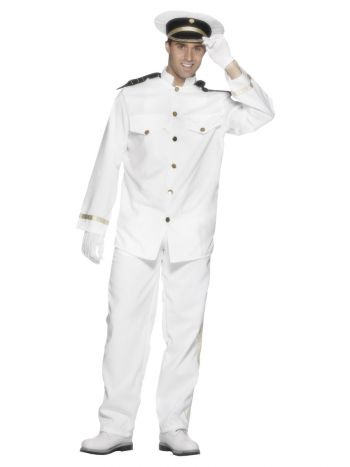 Captain Costume, White