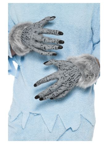 Werewolf Furry Hands, Grey