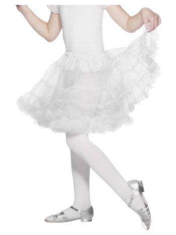 Petticoat Child, White