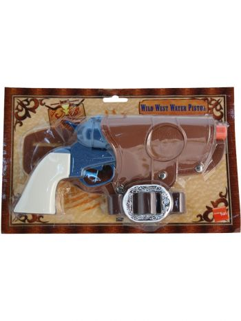 Western Water Pistol, Single Gun, Blue