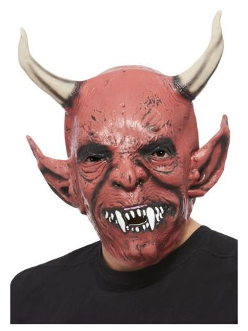 Devil Demon Mask, Red