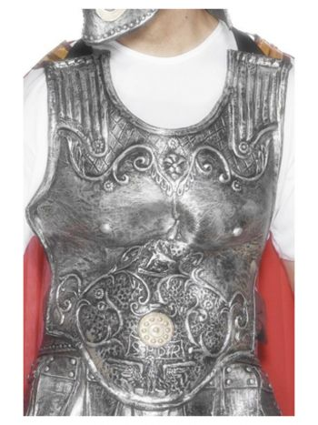 Roman Armour Breastplate, Silver