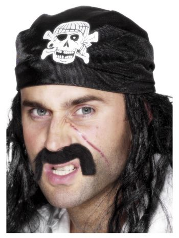 Pirate Bandana, Black