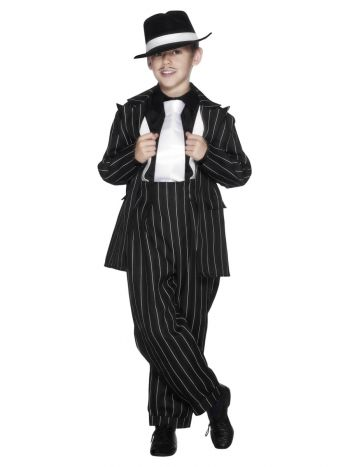 Zoot Suit Costume, Black