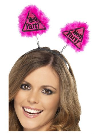 Hen Party Warning Boppers, Pink